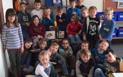 Læsestafet på Hiort Lorenzen-Skolen